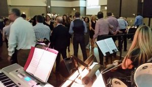 A ceili for a community event