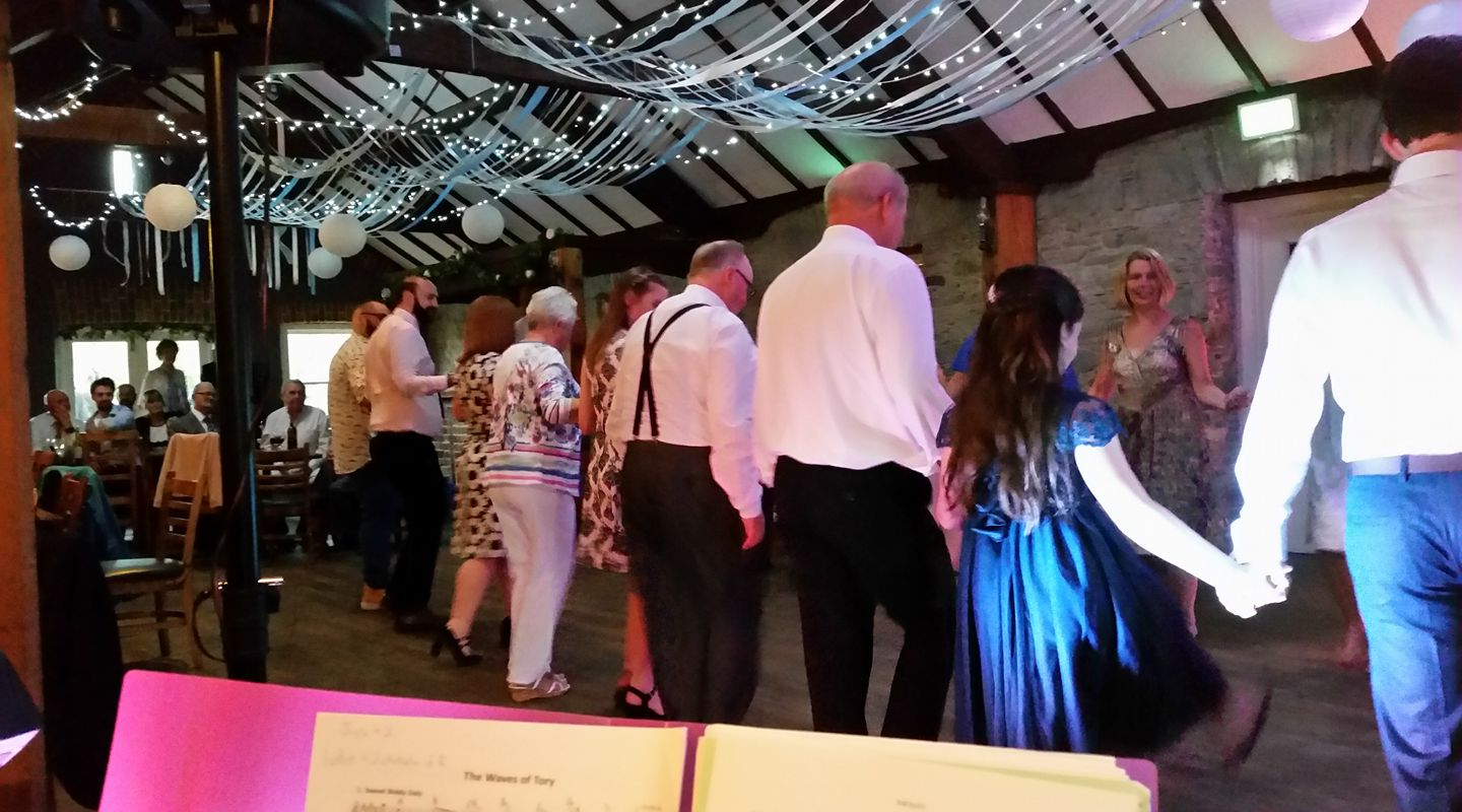 A wedding ceili in Northern Ireland