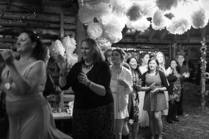 A wedding ceili