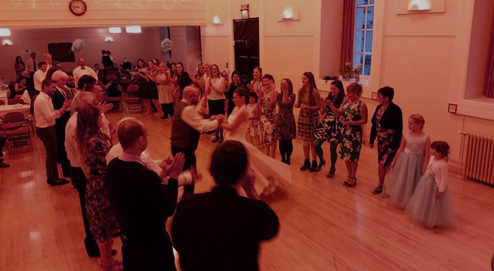 Ceili in Carrickfergus